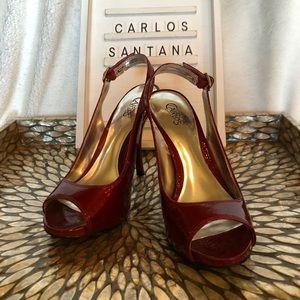 Carlos Santana Peep Toe Stilettos!👠